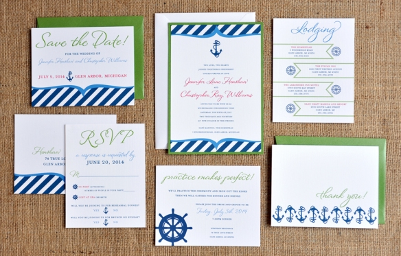 Christopher Wedding Invitation